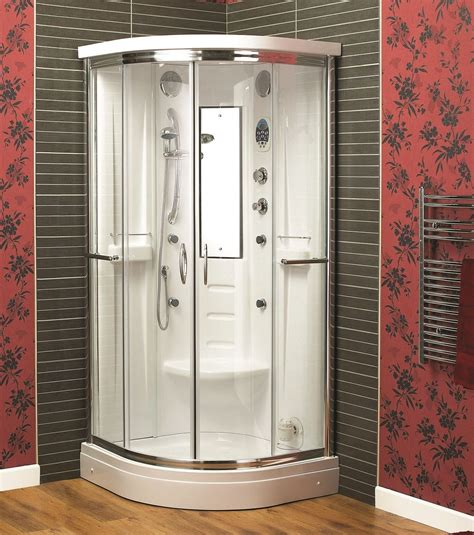 Shower Bath Suites Sale aqualux florenta quadrant steam shower enclosure cabin