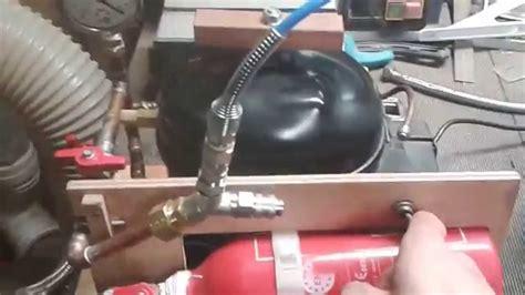 utilisation d une pompe 224 vide faite maison