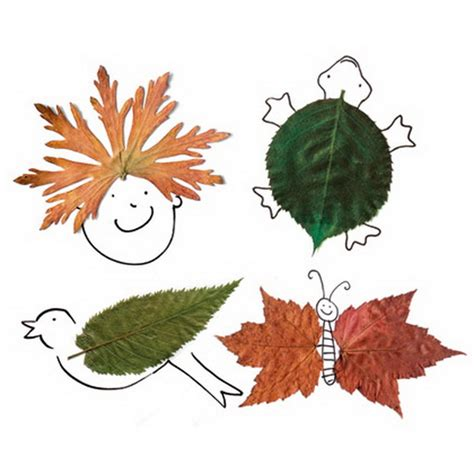 crafts with leaves for fall decor crafts easy fall leaf projects family