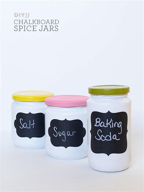 chalkboard jars diy hearts diy anthropologie chalkboard spice jars