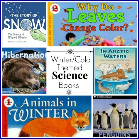 winter themed picture books winter cold themed science books hip homeschool