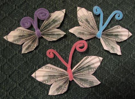 origami butterfly money money origami butterfly