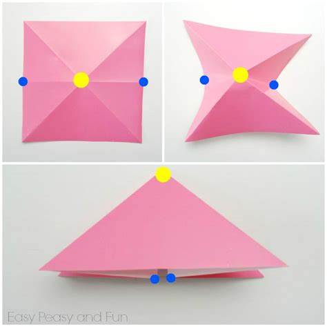 simple origami easy origami fish origami for easy peasy and