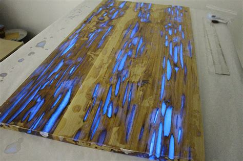 glow in the paint pecky cypress make your own glowing furniture diy glow in the