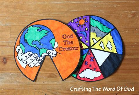 creation crafts for days of creation wheel 171 crafting the word of god