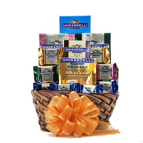 gift baskets usa ghirardelli chocolate gift basket free shipping usa only