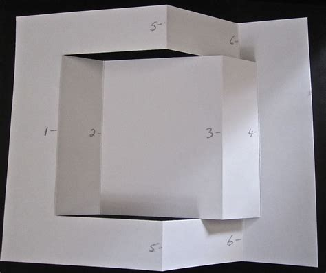 how to make a tri fold card my buttons n bows tri fold card directions