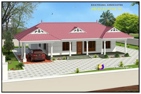 single floor house plans 1320 sqft traditional single floor kerala home design