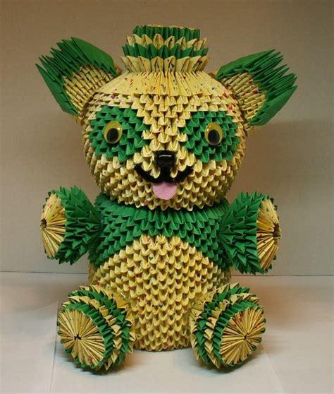 3d origami teddy teddy album heidi lenney 3d origami