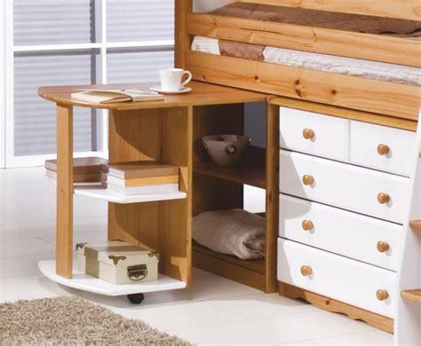 mid sleeper bunk beds pine mid sleeper bunk bed