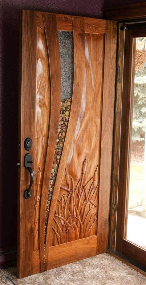 unique front doors best 25 wooden doors ideas on wooden interior