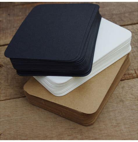 paper pads for card 20 pcs lot black white kraft paper memo pad note pads