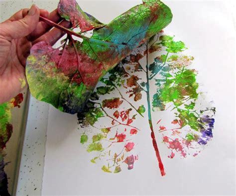leaf craft for leaf printing craft 187 bellissima bellissima