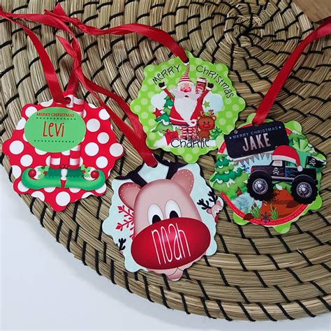 tree decorations personalised ornaments personalised 28 images personalised photo