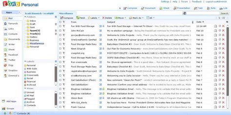 zoho mail zoho mail alternatives top 10 business email solutions