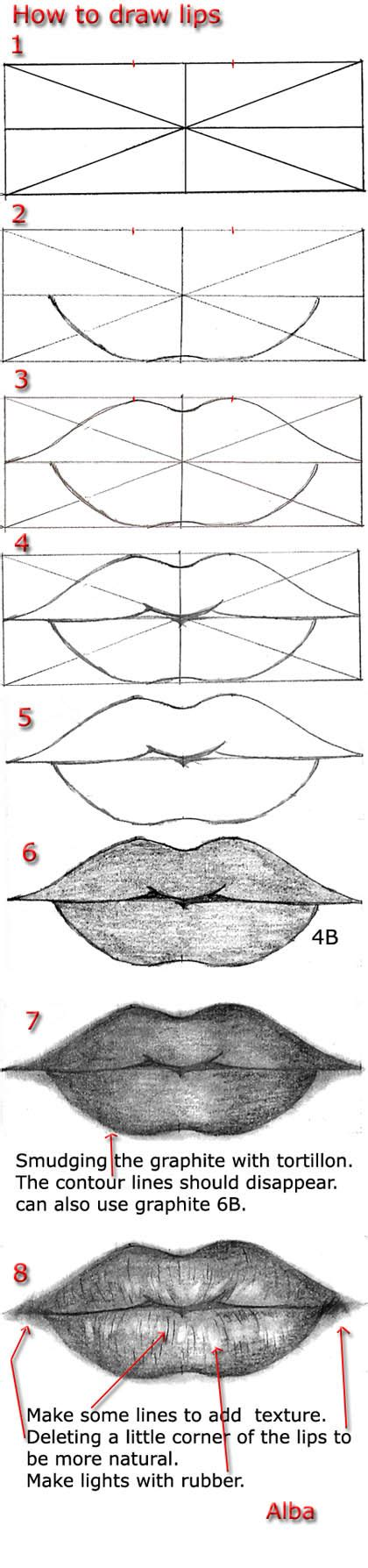 how to draw mouths tutorial draw by lamorghana on deviantart