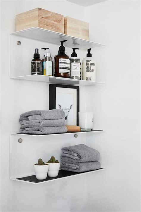 shelves for small bathroom best 25 bathroom shelves ideas on half