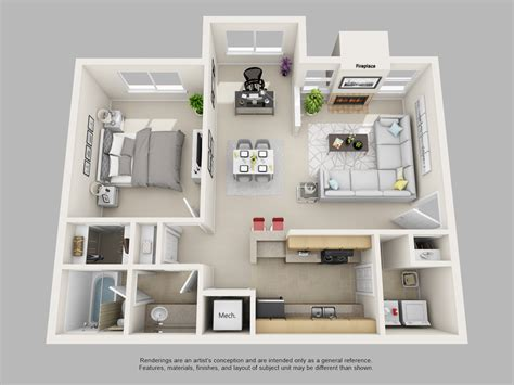 floor plans for one bedroom apartments park on clairmont apartments park on clairmont