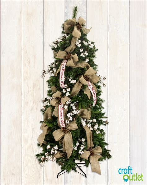 decorating tree with deco mesh tree decorating with burlap and deco mesh