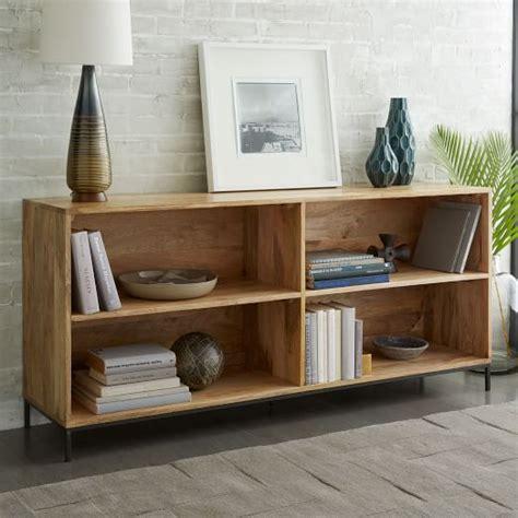 bookshelves modular industrial modular bookcase west elm