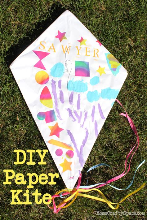kite paper craft diy paper kite tutorial so and for windy