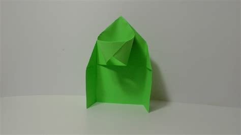 origami player origami basketball hoop
