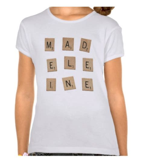 scrabble shirts items similar to scrabble letter name t shirt