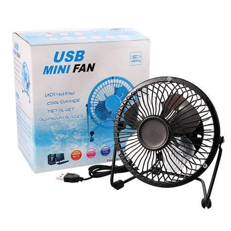 small desk fan us 4inch usb desk fan mini table fan small personal fan