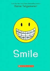 pictures of the book smile the s thoughts on smile by raina telgemeier diary