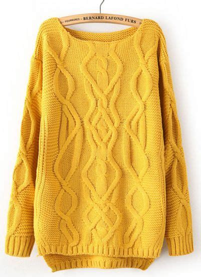mustard cable knit sweater fresh picked friday vol 65 picklee
