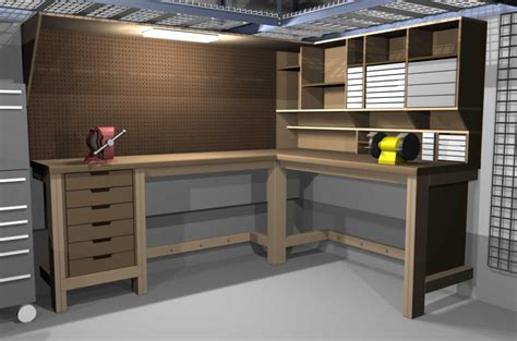 building a workbench for woodworking garage workbench on workbench plans