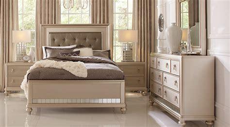 sofia the bedroom furniture sofia vergara silver 5 pc bedroom