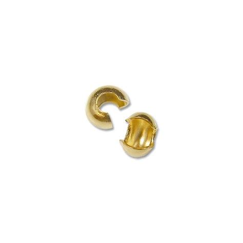 4mm crimp crimp bead covers 4mm gold color covers for crimp
