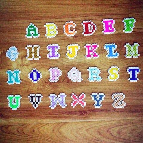 hama bead letter templates 25 best ideas about alphabet on hama