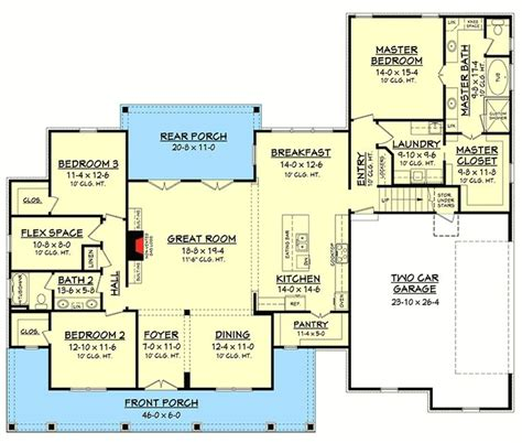 1 story country house plans best 25 country house plans ideas on 4