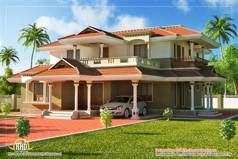 2 floor house beautiful kerala style 2 story house 2328 sq ft kerala home design and floor plans