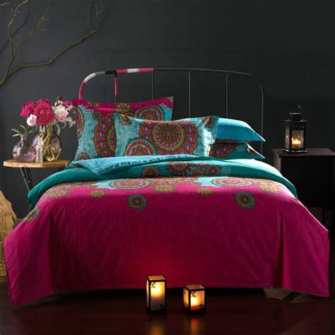 moroccan style bedding sets 20 27day delivery moroccan ethnic style cotton bedding set