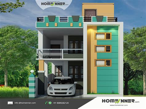 home design for in india tamil nadu style 3d house elevation design