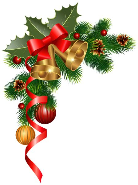 corner decoration png clipart image new year