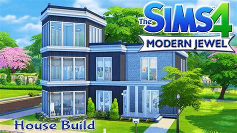 Split Level Houses the sims 4 house build modern jewel family home youtube