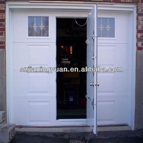 garage door with pedestrian door heat insulation garage doors with pedestrian door buy