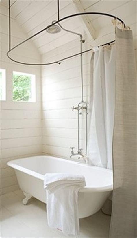roll top bath and shower roll top shower curtain bathroom ideas