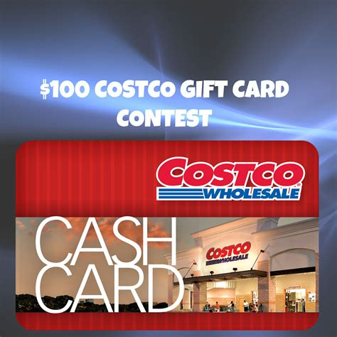 card contest 100 costco gift card contest entertain on a dime