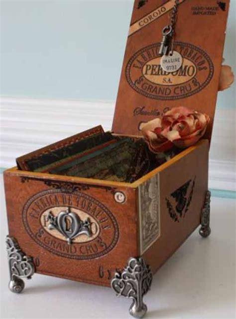 cigar box craft projects altered cigar box cigar boxes