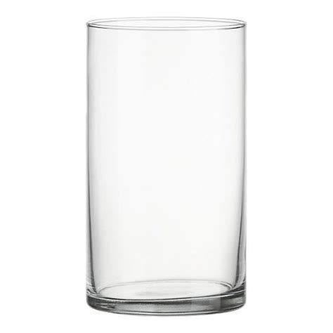 clear plastic cylinder vases clear acrylic cylinder vase wearing lightweight durable plastic 25cm high ebay