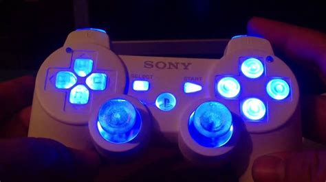 light and controller ps3 modded controller with led lights and rumble motor mod