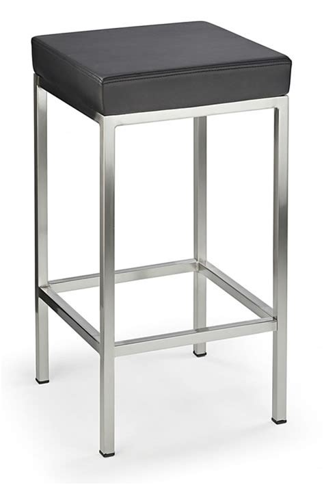 Black Leather Swivel Bar Stools by Fixed Height Kitchen Bar Stools Wooden Chrome Satin