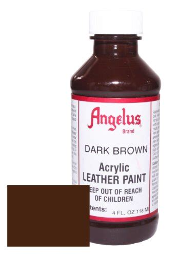 angelus paint brown angelus acrylic leather paint 4oz brown