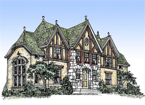 tudor house plans impressive tudor 11603gc architectural designs