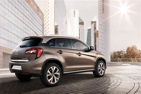 Citroen C4 Aircross by New Citroen C4 Aircross Crossover Autotribute